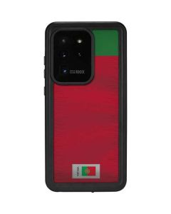 Portugal Soccer Flag Galaxy S20 Ultra 5G Waterproof Case