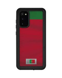 Portugal Soccer Flag Galaxy S20 Waterproof Case