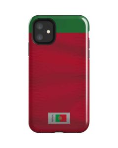 Portugal Soccer Flag iPhone 11 Impact Case