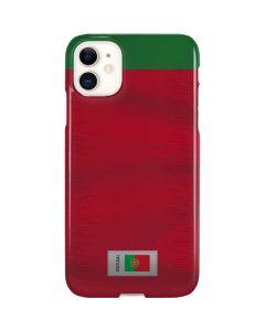 Portugal Soccer Flag iPhone 11 Lite Case