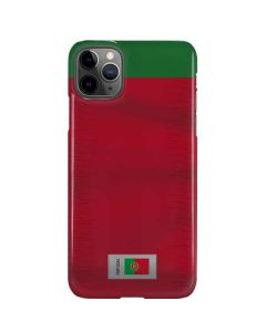 Portugal Soccer Flag iPhone 11 Pro Max Lite Case