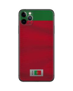Portugal Soccer Flag iPhone 11 Pro Max Skin