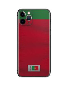 Portugal Soccer Flag iPhone 11 Pro Skin