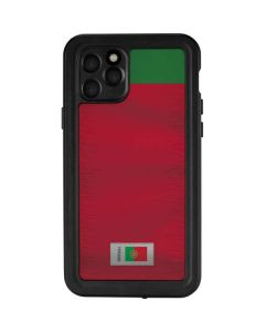 Portugal Soccer Flag iPhone 11 Pro Waterproof Case