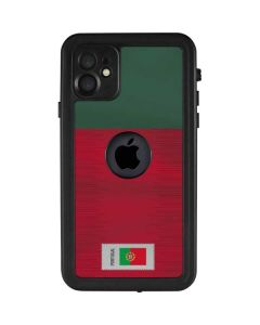 Portugal Soccer Flag iPhone 11 Waterproof Case
