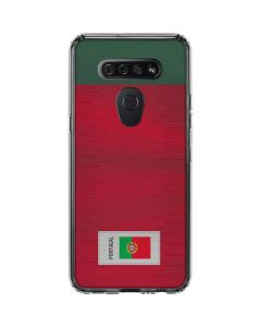 Portugal Soccer Flag LG K51/Q51 Clear Case