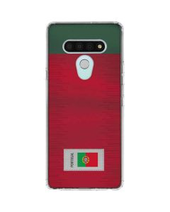 Portugal Soccer Flag LG Stylo 6 Clear Case