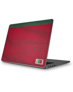 Portugal Soccer Flag Apple MacBook Pro 17-inch Skin