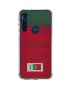 Portugal Soccer Flag Moto G8 Power Clear Case