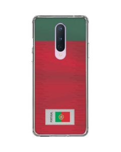 Portugal Soccer Flag OnePlus 8 Clear Case