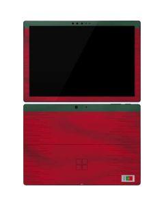 Portugal Soccer Flag Surface Pro 7 Skin