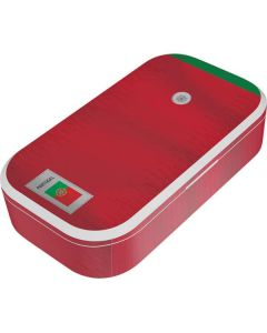 Portugal Soccer Flag UV Phone Sanitizer and Wireless Charger Skin