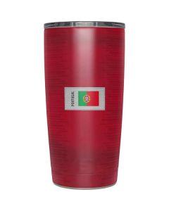 Portugal Soccer Flag Yeti 20oz Tumbler Skin