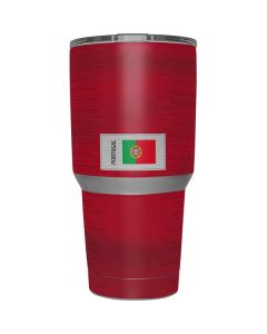 Portugal Soccer Flag Yeti 30oz Rambler Tumbler Skin