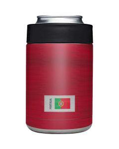 Portugal Soccer Flag Yeti Colster Can Insulator Skin