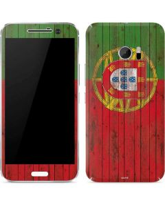 Portuguese Flag Dark Wood 10 Skin
