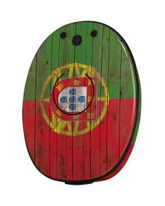 Portuguese Flag Dark Wood MED-EL Rondo 2 Skin