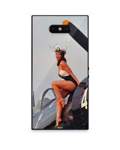 1940s Navy Pin-Up Girl On Corsair Fighter Plane Razer Phone 2 Skin