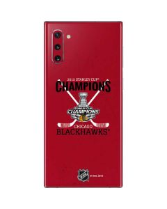 2015 Stanley Cup Champions Chicago Blackhawks Galaxy Note 10 Skin