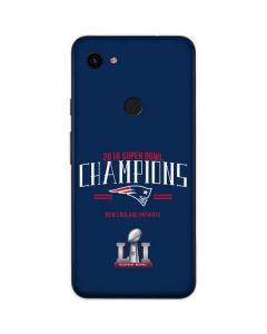 2016 Super Bowl LI Champions New England Patriots Google Pixel 3a Skin