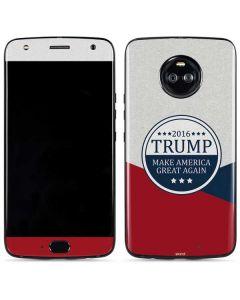 2016 Trump Make America Great Again Moto X4 Skin