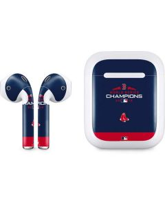Boston Red Sox World Series Champions 2018 Apple AirPods Skin
