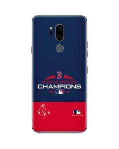 Boston Red Sox World Series Champions 2018 G7 ThinQ Skin