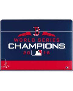 Boston Red Sox World Series Champions 2018 Galaxy Book Keyboard Folio 12in Skin