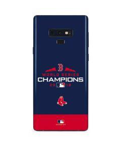 Boston Red Sox World Series Champions 2018 Galaxy Note 9 Skin