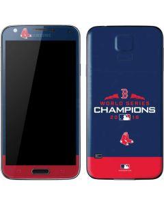 Boston Red Sox World Series Champions 2018 Galaxy S5 Skin