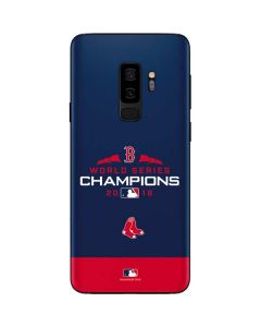 Boston Red Sox World Series Champions 2018 Galaxy S9 Plus Skin