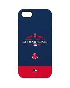 Boston Red Sox World Series Champions 2018 iPhone 5/5s/SE Pro Case