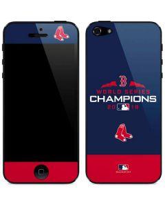 Boston Red Sox World Series Champions 2018 iPhone 5/5s/SE Skin