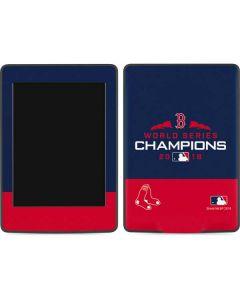 Boston Red Sox World Series Champions 2018 Amazon Kindle Skin
