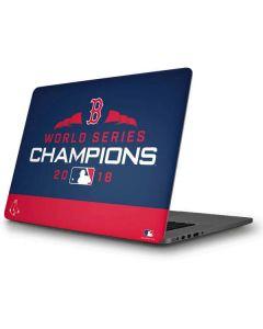 Boston Red Sox World Series Champions 2018 Apple MacBook Pro Skin
