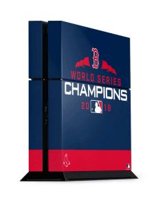 Boston Red Sox World Series Champions 2018 PS4 Console Skin