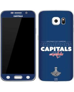 2018 Stanley Cup Champions Capitals Galaxy S6 Skin