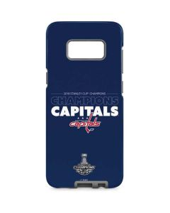 2018 Stanley Cup Champions Capitals Galaxy S8 Pro Case