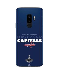 2018 Stanley Cup Champions Capitals Galaxy S9 Plus Skin