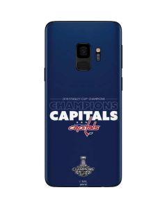 2018 Stanley Cup Champions Capitals Galaxy S9 Skin