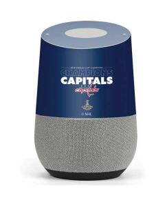 2018 Stanley Cup Champions Capitals Google Home Skin