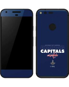 2018 Stanley Cup Champions Capitals Google Pixel Skin