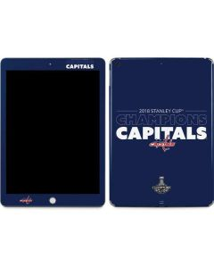 2018 Stanley Cup Champions Capitals Apple iPad Skin
