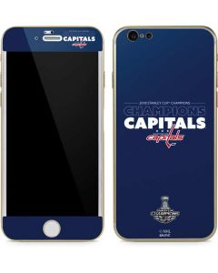 2018 Stanley Cup Champions Capitals iPhone 6/6s Skin