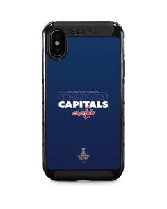 2018 Stanley Cup Champions Capitals iPhone X Cargo Case