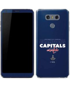 2018 Stanley Cup Champions Capitals LG G6 Skin