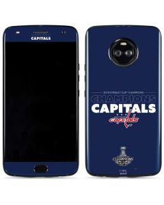 2018 Stanley Cup Champions Capitals Moto X4 Skin