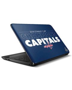 2018 Stanley Cup Champions Capitals HP Notebook Skin