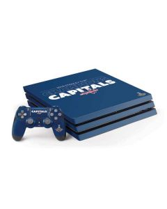 2018 Stanley Cup Champions Capitals PS4 Pro Bundle Skin