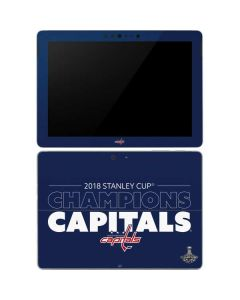 2018 Stanley Cup Champions Capitals Surface Go Skin